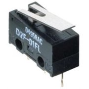 Omron Electronic Components D2F-L Microswitch pack Of 2