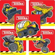 Tonka Truck Stickers - Party Favors - 75 per Pack