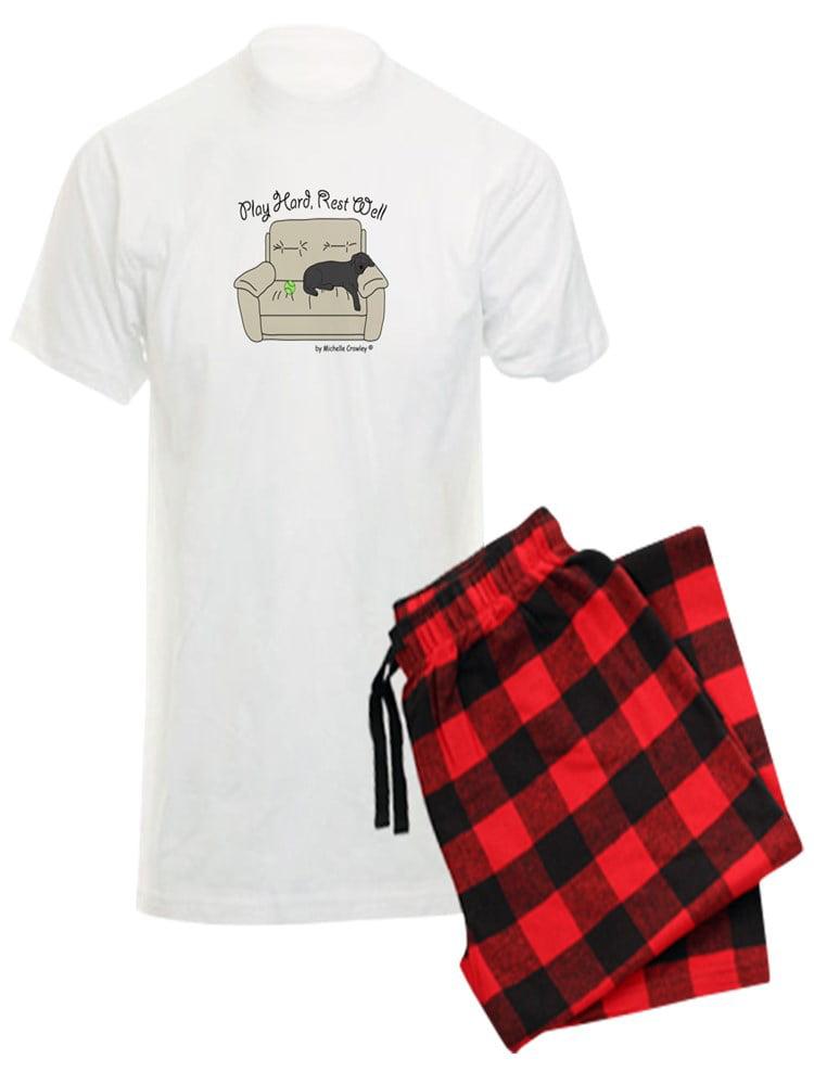 CafePress Black Lab Dad Pajamas Pajama Set