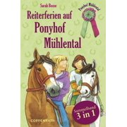 Reiterferien auf Ponyhof Mühlental - Sammelband 3 in 1 - eBook