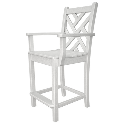 POLYWOOD Chippendale 24'' Bar Stool by Polywood