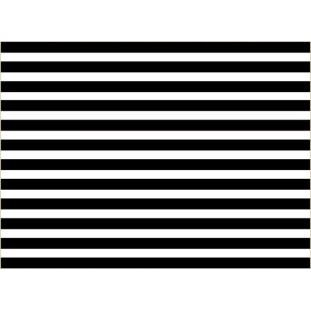 New Years Backdrops (GreenDecor Polyster 7x5ft Black And White Striped Background For Baby Happy New Year Photography Backdrops Photo)