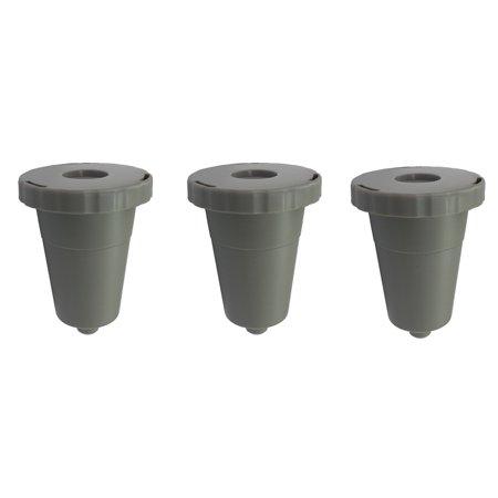 3 Reusable Coffee Filter Set For Keurig K-Cup B30 B31 B40 B50 B60 ()