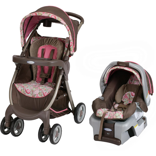 Graco FastAction Fold DLX Travel System with SnugRide 30, Jacqueline
