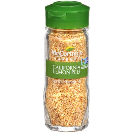 McCormick Gourmet California Lemon Peel, 1.5 oz