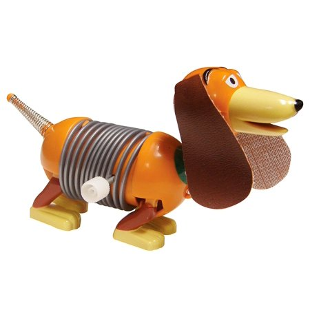Disney Pixar Toy Story Wind-Up Dog, Wind him up and watch him walk By Slinky