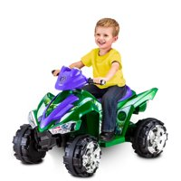 Marvel Hulk Toddler Ride-On Toy by Kid Trax, green / purple