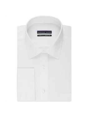 Geoffrey Beene Mens Textured Button Up Dress Shirt