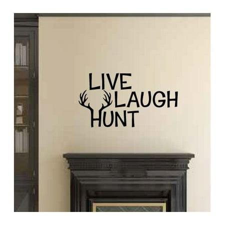 Loon Peak Arnett Live Laugh Hunt Wall Decal