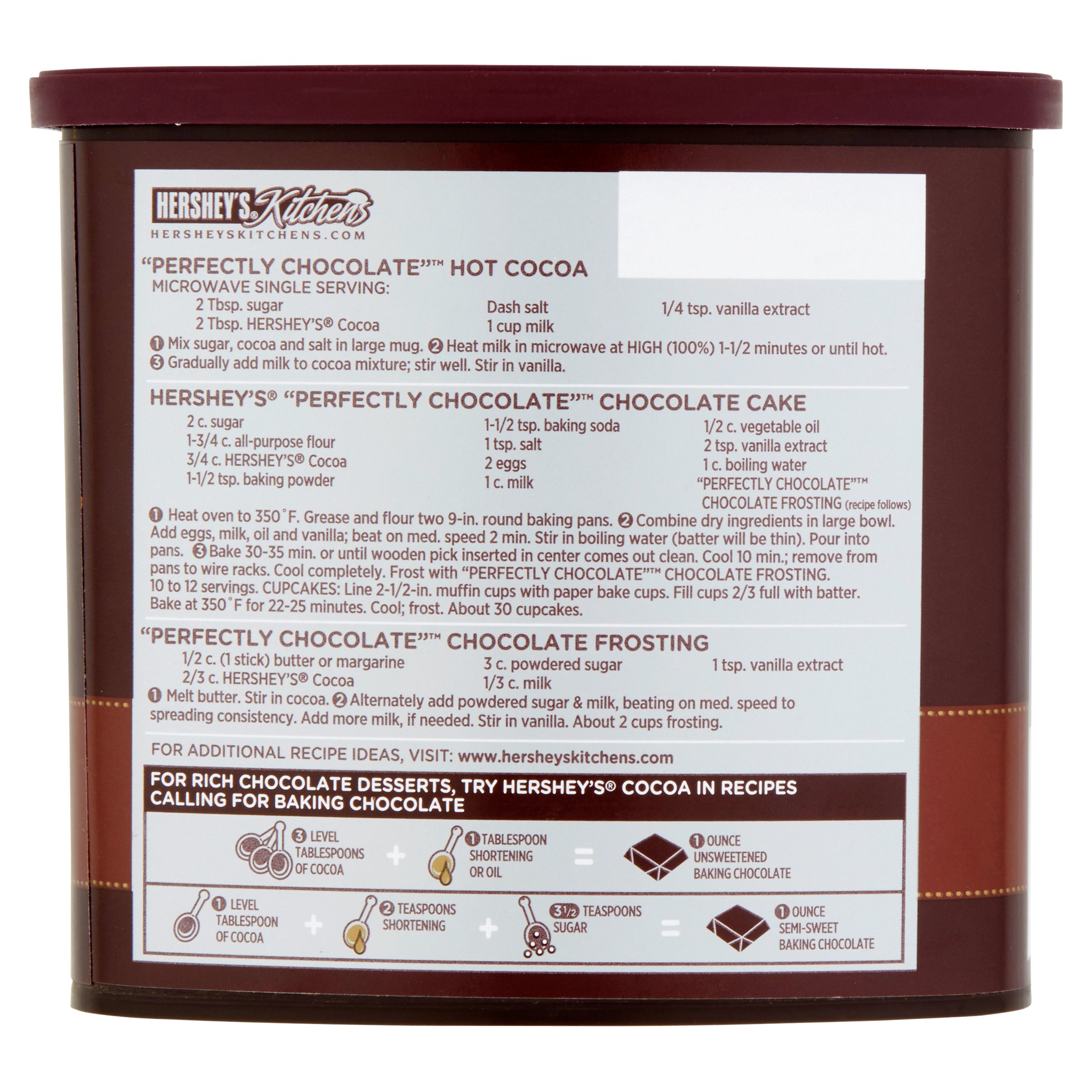 Natural Unsweetened Cocoa, 16 oz