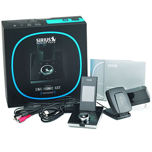 Mobile Electronics: Sirius S50 Personal Satellite Radio Home Kit