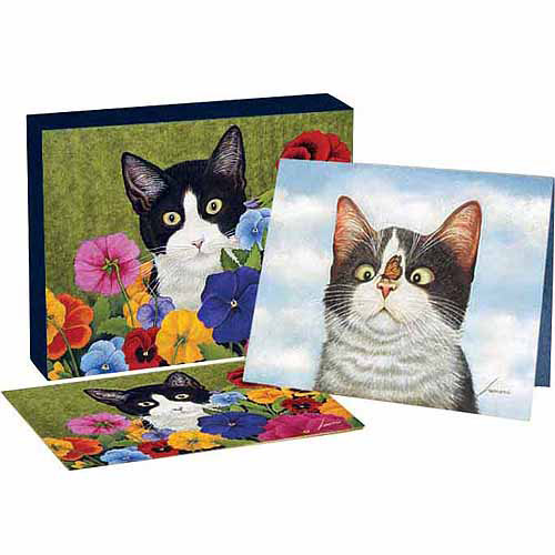 "Lang ""American Cat"" Deluxe Notecard Set"