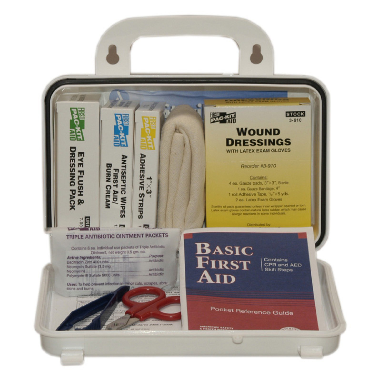 Pac-Kit ANSI Plus 10 Person Plastic First Aid Kit