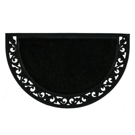 Calloway Mills Black Arch Outdoor Doormat 18