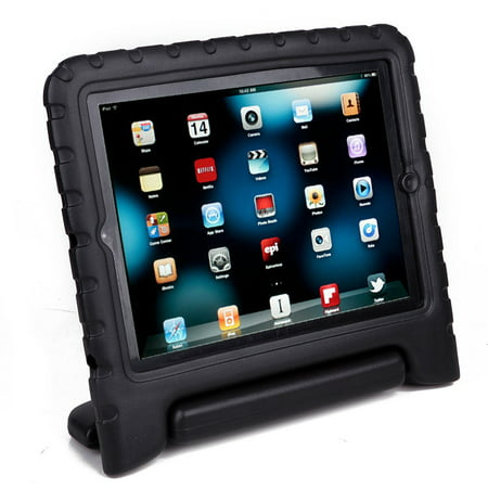 TekDeals Kids Shock Proof Foam Case Handle Cover Stand for iPad Mini & Mini Retina