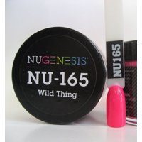 NUGENESIS Nail Color Dip Dipping Powder 1.5oz/43g jar - NU165 Wild Thing