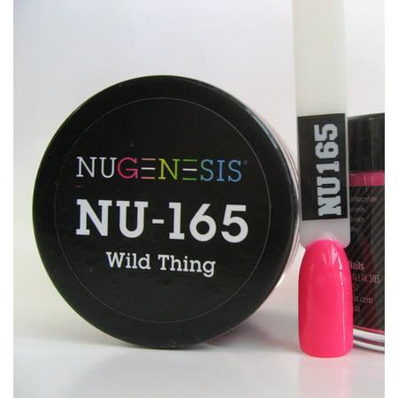 NUGENESIS Nail Color Dip Dipping Powder 1oz/jar - NU165 Wild