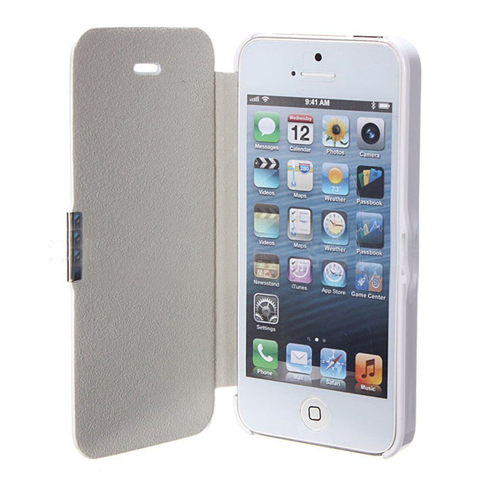 iPhone 4S /4 Case Premium PU Durable Leather Wallet Folio Protective Cover Case for Apple iPhone 4 / 4S