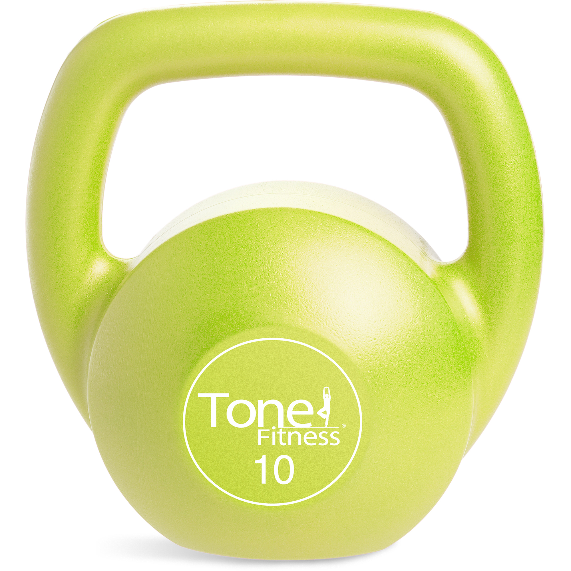 Cap Barbell Tone Fitness Vinyl Kettlebell Walmart Com