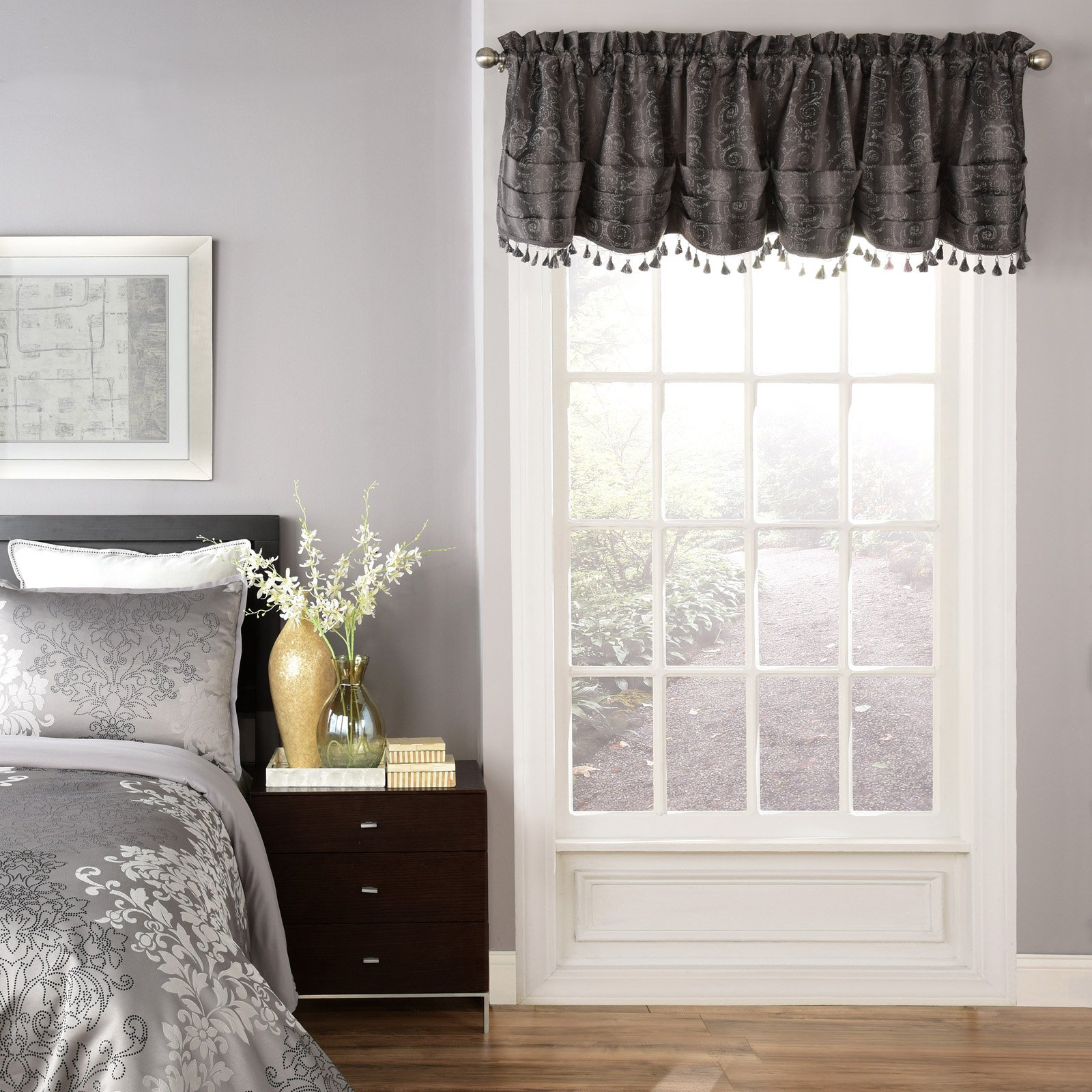Beautyrest Avignon Room Darkening Window Valance by Ellery Homestyles