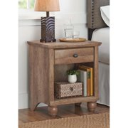 Better Homes & Gardens Crossmill Accent Table, Weathered Finish