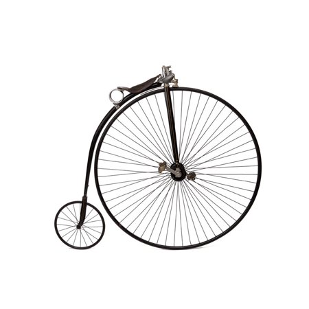 A High Wheel Bicycle Print Wall Art