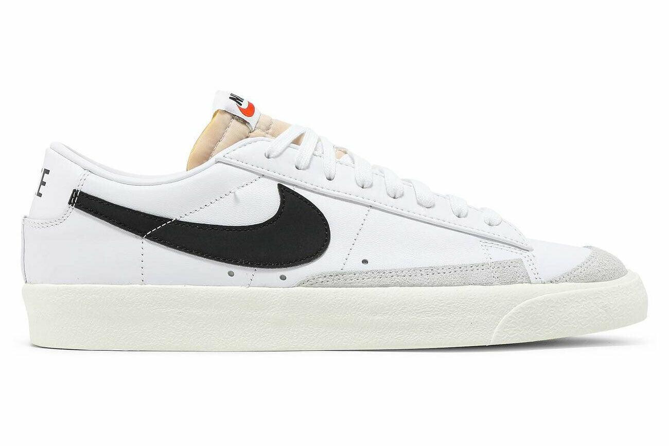 Nike - Nike Blazer Low '77 Vintage DA6364 101 Men's Fashion Sneakers, White Black - Walmart.com