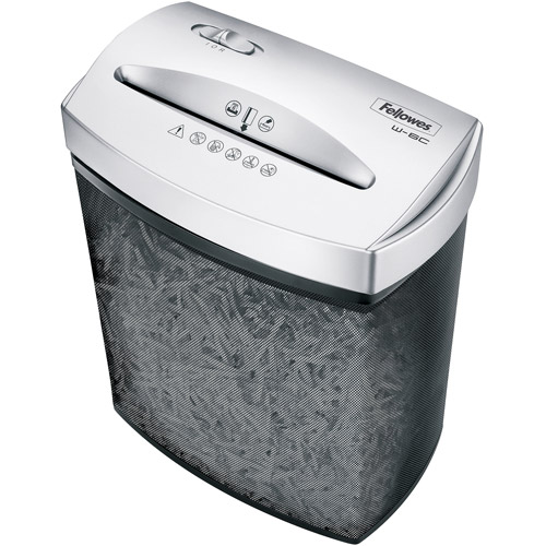 Fellowes W-6C 6-Sheet Cross Cut Shredder
