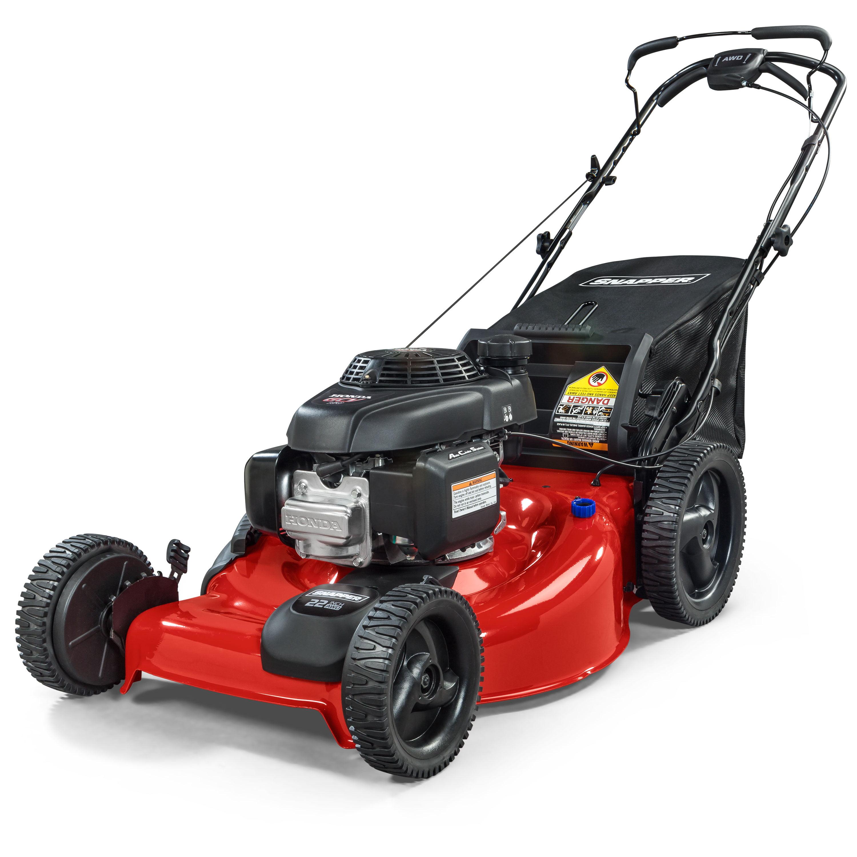 Snapper 22 In Honda Gcv 160cc All Wheel Drive Lawnmower