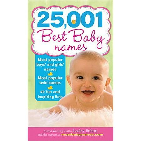 25,001 Best Baby Names