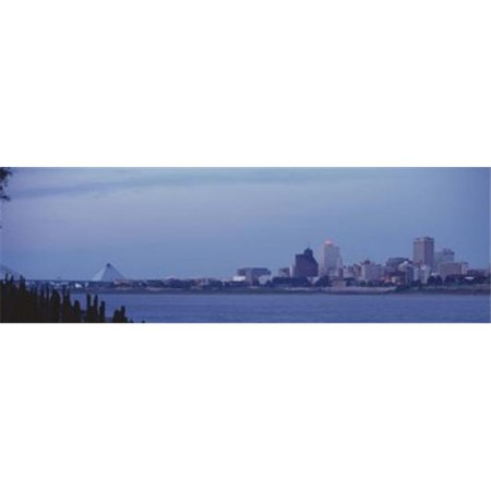Panoramic Images PPI79039L Memphis TN Poster Print by Panoramic Images - 36 x 12 ()