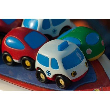 Canvas Print Ambulance Miniature Toys Car Stretched Canvas 10 x 14