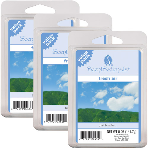 Scentsationals Value Wax Pack, Fresh Air