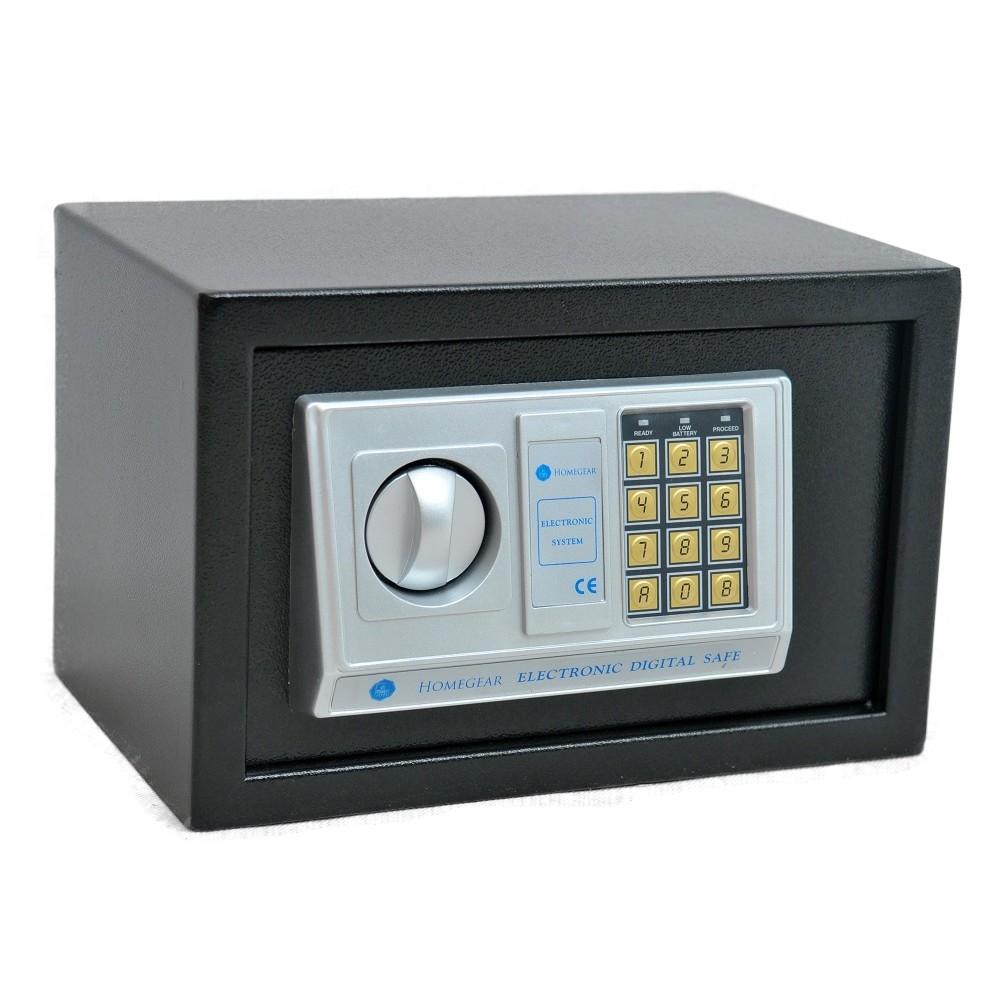 Homegear Medium 0.43CF Electronic Safe Gun Hotel Office Home Security Safes Box