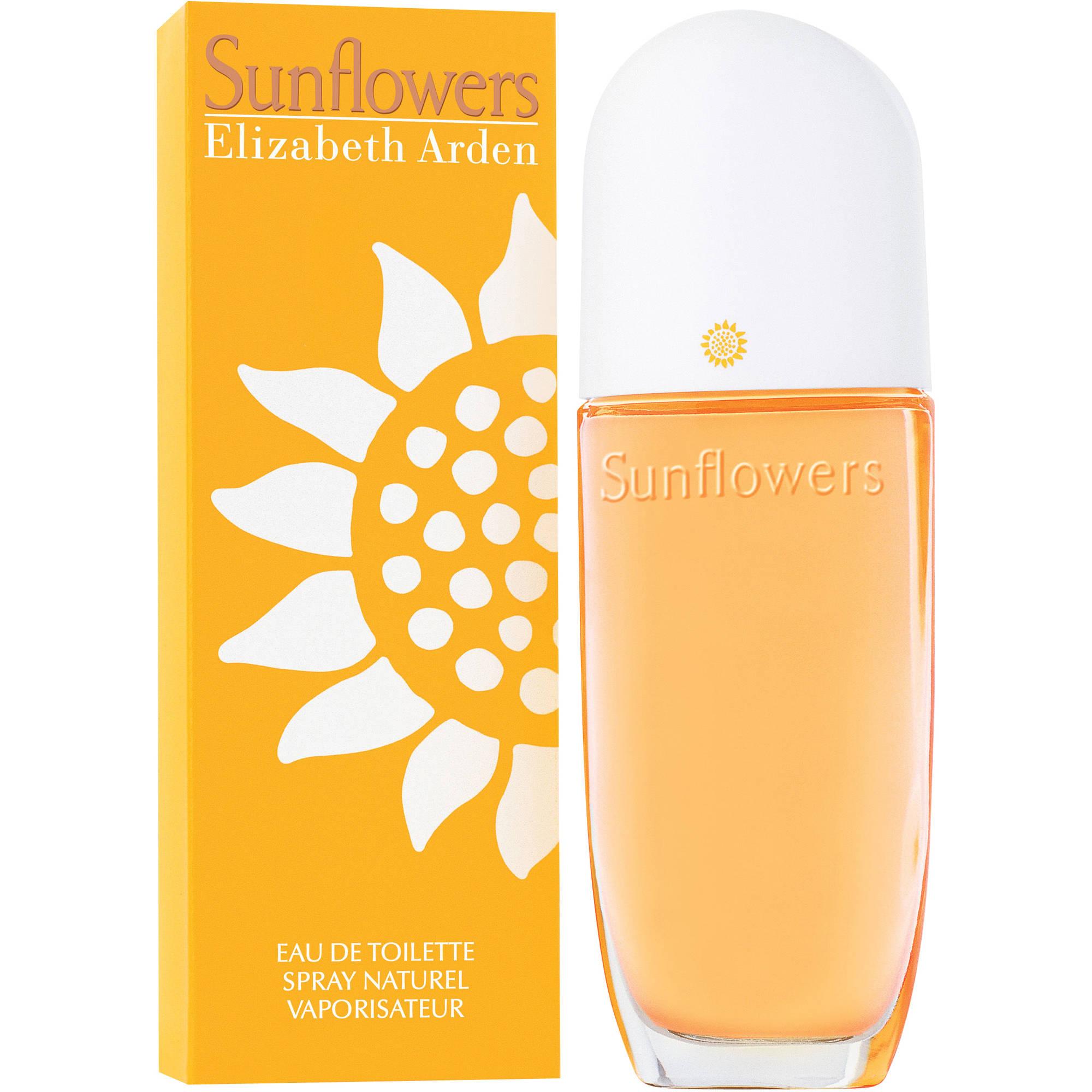 Elizabeth Arden Sunflowers Eau de Toilette Spray, 3.3 fl oz