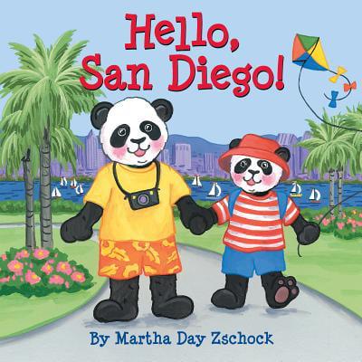 Hello, San Diego! (Board Book)