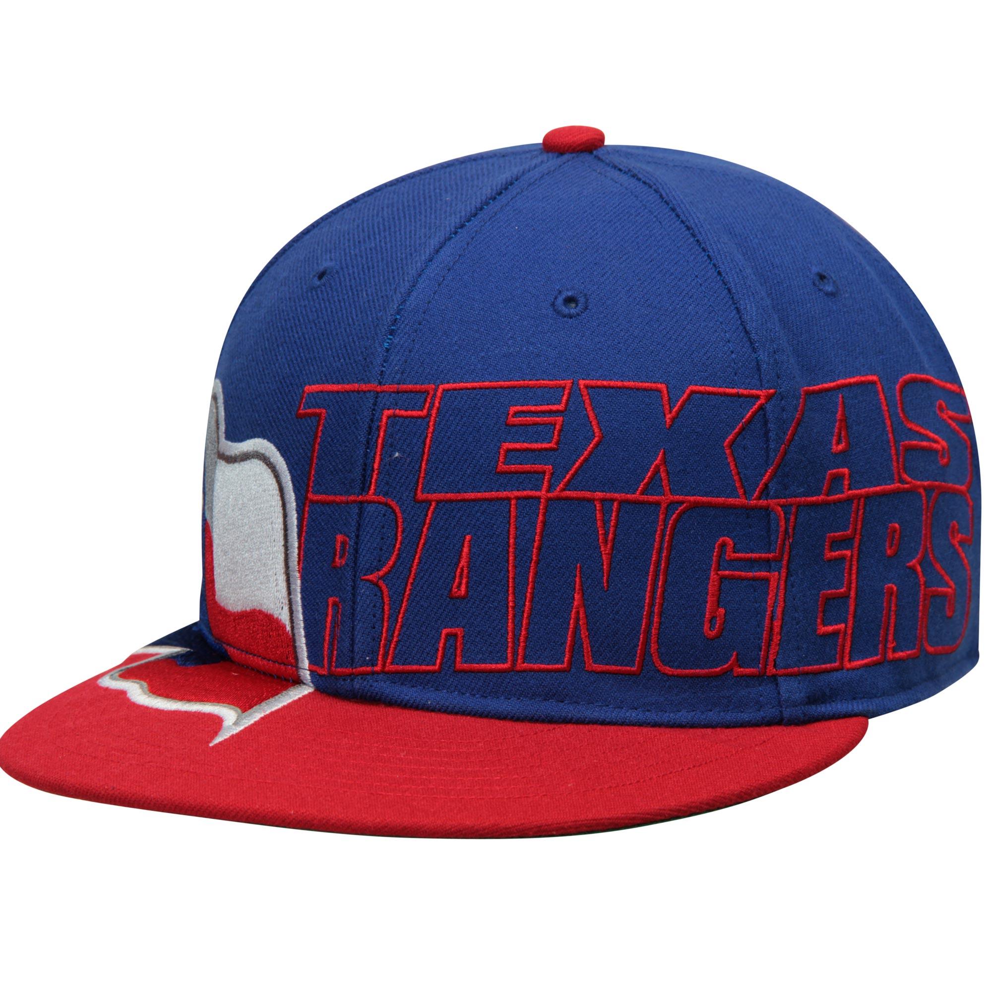 Texas Rangers '47 Big Rush Adjustable Hat - Royal/Red - OSFA