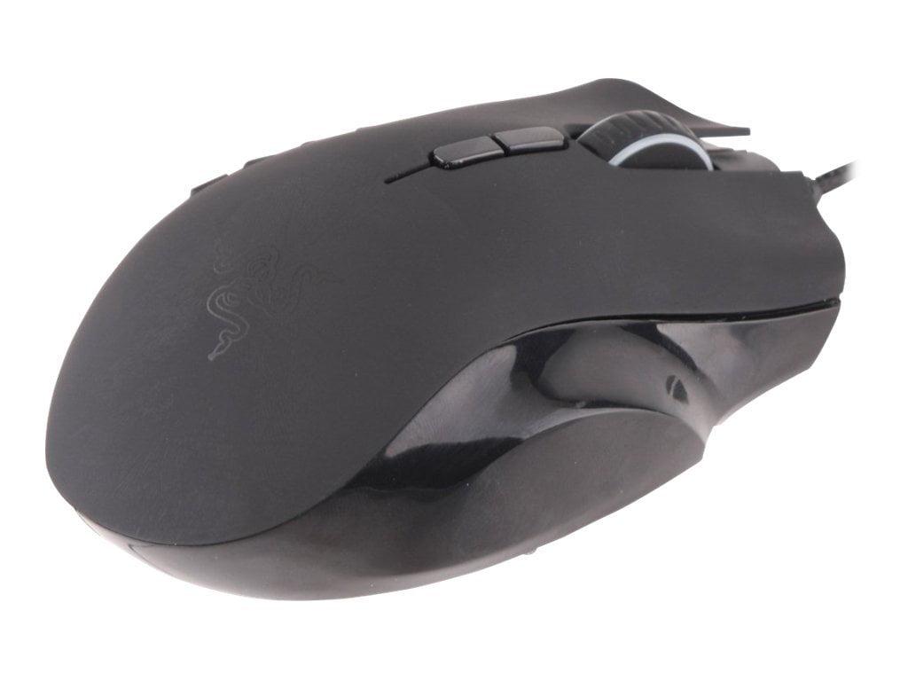 Razer Naga Epic Mouse Laser 17 Buttons Wireless Wired 24 Chroma Mmo Ghz Usb Receiver