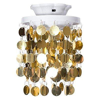 Locker style magnetic led light chandelier gold walmart locker style magnetic led light chandelier gold aloadofball Choice Image