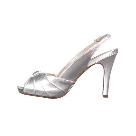 d2e6bd8f6 Touch Ups Iris Open-Toe Slingback Pumps