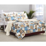 Global Trends Bermuda Bedding Quilt Set, Multicolor