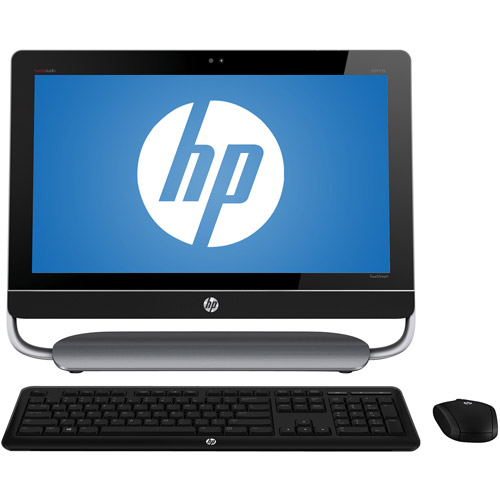 "HP Black Envy TouchSmart 23-D052 All-in-One Desktop PC with Intel Core i7-37705 Processor, 8GB Memory, 23"" Monitor, 2TB Hard Drive and Windows 8 Operating System"