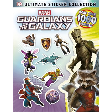 Ultimate Sticker Collection: Marvel's Guardians of the (Difference Between Galaxy 4 And Galaxy 5)