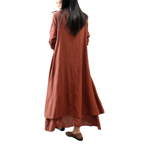 9491a5f6cee7 Noroomaknet - Noroomaknet Plus Size Maxi Dresses for Women Cotton ...