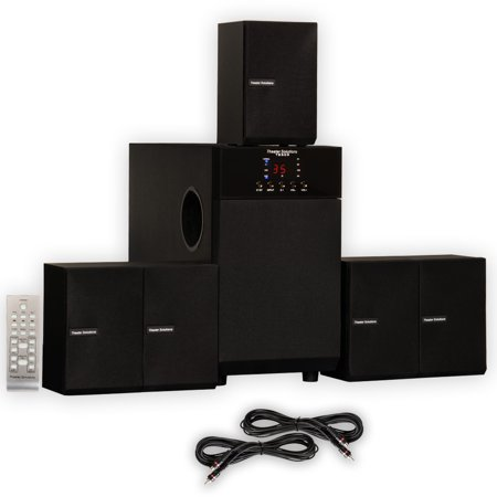 theater solutions ts509 home theater 5 1 speaker surround. Black Bedroom Furniture Sets. Home Design Ideas
