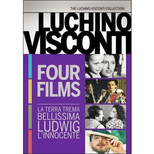 Luchino Visconti Four Film Collection: La Terra Trema / Bellissima / Ludwig / L'Innocente