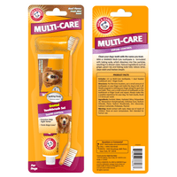 Arm & Hammer Multi-Care Tartar Control Enzymatic Toothbrush & Toothpaste Kit in Beef Flavor