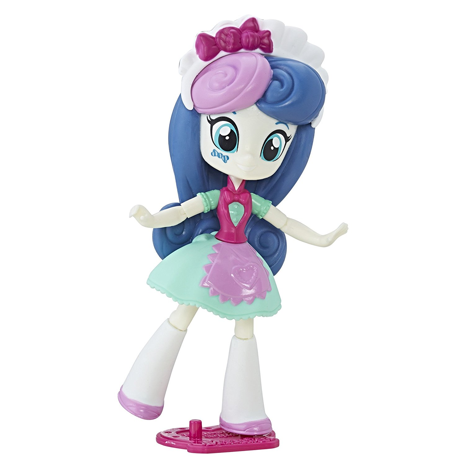 Equestria Girls Mall Collection Sweetie Drops, Poseable with 9 points of articulation By My Little Pony Ship from US