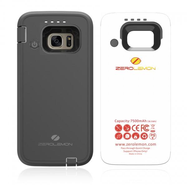 ZeroLemon Samsung Galaxy S7 7500mAh Rugged Battery Case w...