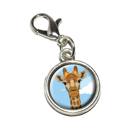 - Giraffe - Zoo Animal Safari Bracelet Charm